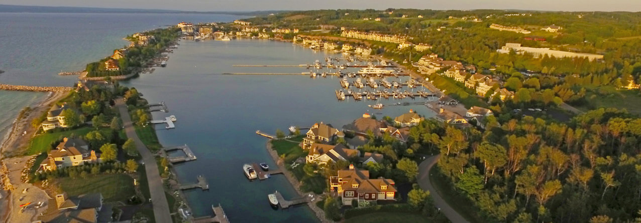 This Charming City in Northern Michigan is A Finalist for 2018's Happiest Seaside Town Explore Bay Harbor