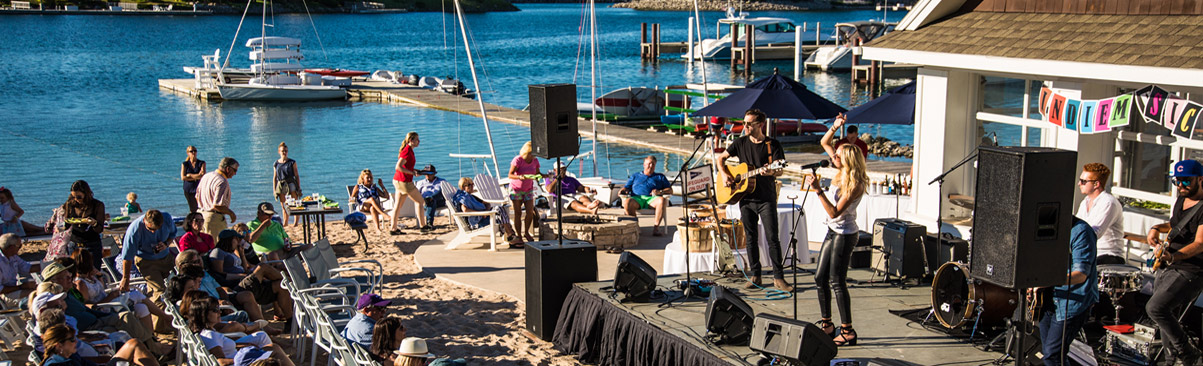 Arts and Entertainment in Bay Harbor, Northern Michigan