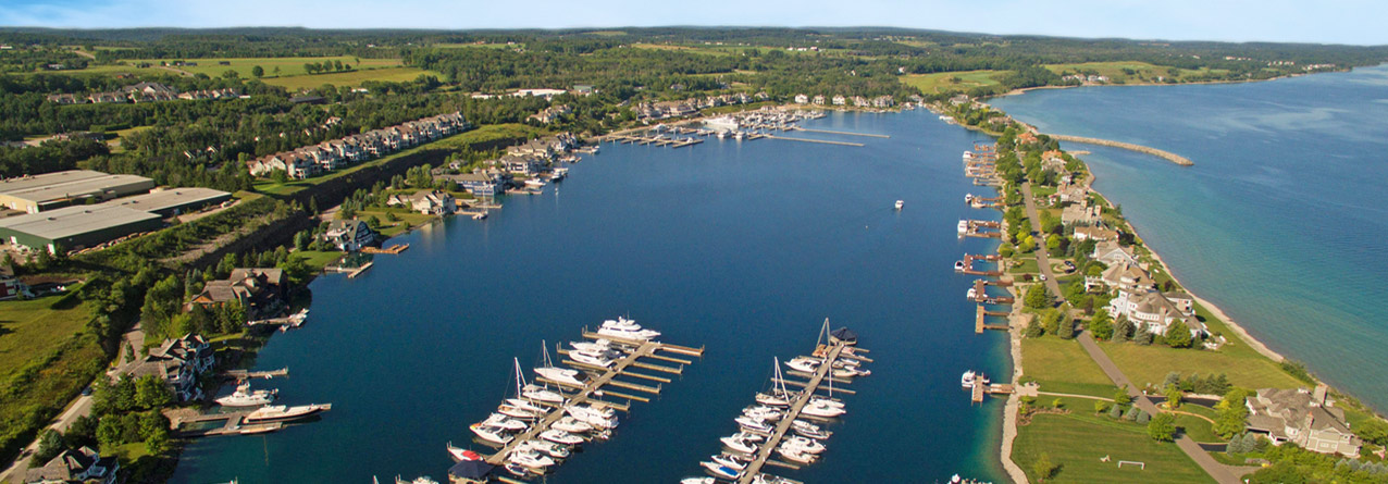 Bay Harbor Lake Marina in Northern Michigan