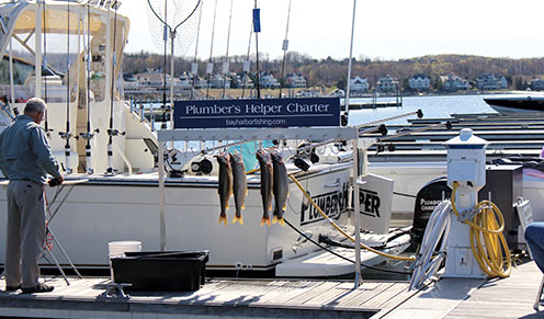 Experience – Marina – Bay Harbor Fishing Charters