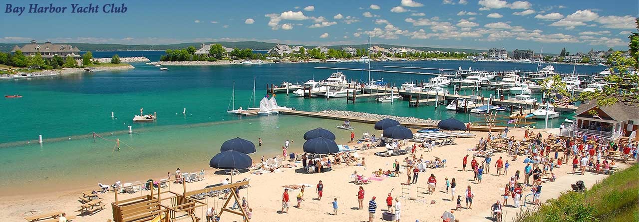 Summertime at the Bay Harbor Yacht Club