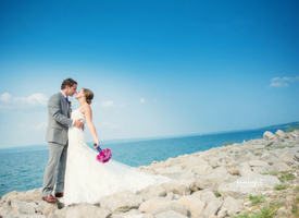 A Bay Harbor Wedding Story Harbour Ridge style=