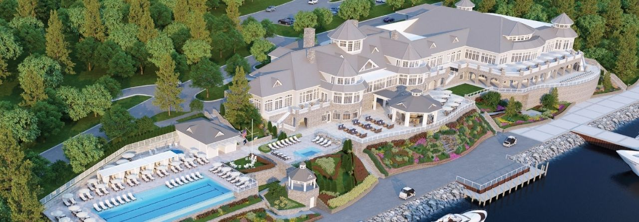 rendering of the new Bay Harbor yacht club